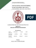 Laboratorio de circuitos electricos 2 - Circuitos Trifasicos Balanceados