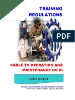 CATV Operation & Maintenance NC III