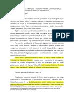A esquina de uma geração - Corona Vírus e a Justiça Penal, interferência política na pf v.2