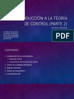 3. Introduccion a la Teoría de Control (parte 2)
