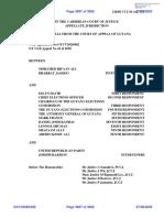 Judgment - Ali and Jagdeo v David Et Al