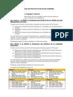 TRABAJO DE ENTRADA DE PROYECTO DE FIN DE CARRERA