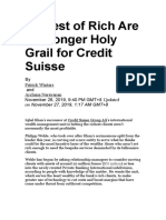 Credit Suisse - private wealth mgnt