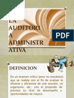 Auditoria Administrativa Sesion 1 y 2