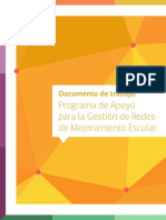 Documento de trabajo Programa de Apoyo para la gestión de Redes de Mejoramiento Escolar..pdf
