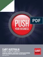 Broschuere Brochure CeBIT-Australia
