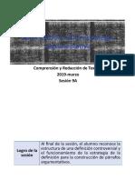 9A y 9B- 100000N01I La definición como estrategia discursiva (diapositivas) 2019-marzo