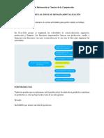 EJEMPLOS DE LOS TIPOS DE DEPARTAMENTALIZACIÓN
