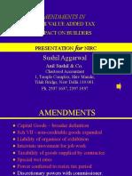 Delhi Vat Amendments