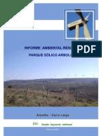 Parque eolico Arbolito