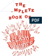 The Complete Book of Flash Powder