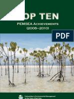 Top 10 PEMSEA Achievements (2008-2010)