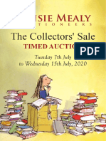 Fonsie Mealy Auctioneers Summer Rare Books