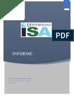 Informe de psicología del desarrollo.