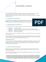 Advanced Estimation Prameter file