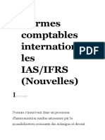Normes comptables internationales IAS