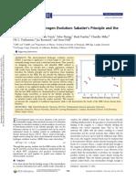 J.Chem.Educ - Electrochemical Hydrogen Evolution. Sabatier's Principle and the Volcano Plot