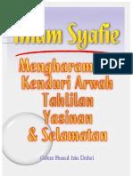 Imam Syafie Mengharamkan Kenduri Arwah