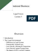Lecture 3 Legal Forces