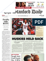 The Stanford Daily, Jan. 14, 2011