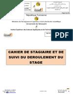 Annexe 3- cahier de stagiaire et de suivi du déroulement du stage (1)