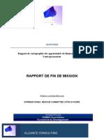 Rapport Mission de Cartographie
