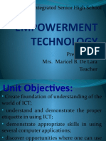 Lesson 1 Empowerment Technology