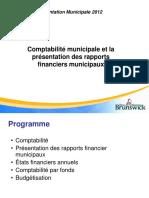 ComptabiliteMunicipaleRapportsFinanciersMunicipaux