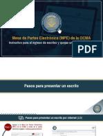 [INSTRUCTIVO] Mesa de Partes Electrónica (MPE) de la OCMA_Mayo 2020_[1] (1)