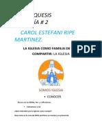 Guia # 2 CATEQUESIS SABADO-13