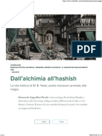 Dall'alchimia all'hashish - il Tascabile