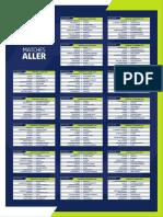 Calendrier complet de Ligue 1 pour la saison 2020-2021