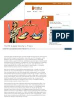 6. Apple  FBI security vs. privacy