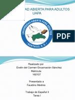 diapositiva español II