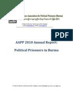 Political Prisoner -2010 Report-Annual-eng