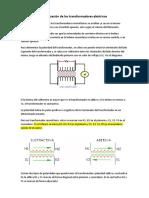 Polarización de los transformadores eléctricos