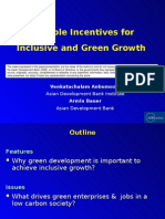 Flexible financial incentives for inclusive and green growth. Examples from the energy sector - presentation