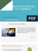 SEMANA 02- Organización de una Empresa