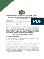 Sentencia constitucional 0102-2018s3