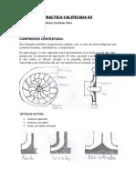 practica calificada 3 turbomaquinas COMPRESOR CENTRIFUGO