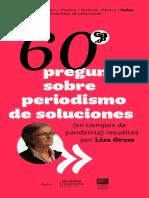 60 preguntas sobre periodismo de soluciones (en tiempos de pandemia) resueltas por Liza Gross