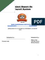 Documentation of Payroll