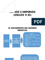 REINOS E IMPERIOS (SIGLOS V-XI)