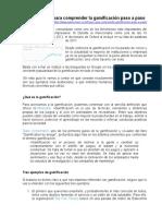GAMIFICACION - PASO A PASO