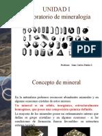 UNIDAD I Laboratorio de mineralogia Alumnos