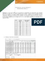 Actividad N°8 estudio de caso regresion y correlacion lineal