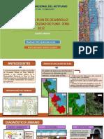 RESUMEN DEL PLAN DE DESARROLLO URBANO DE LA CIUDAD DE PUNO. 2008-2012 - ROCIO TAMAYO