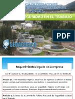 CHARLA DE HIGIENE Y SEGURIDAD AREA DE MANTENIMIENTO