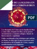 18. La Iglesia en tiempo del coronavirus