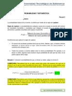 PROBABILIDAD Y ESTADISTICAS CON EJEMPLOS 1.1